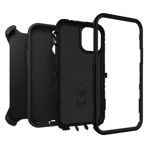 Otterbox Defender iPhone 12 / 12 Pro Noir