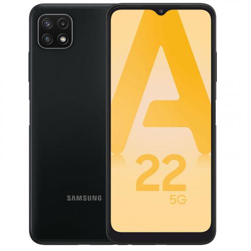 Cell Samsung Galaxy A22 5G 128 Go Gris (O.B.)