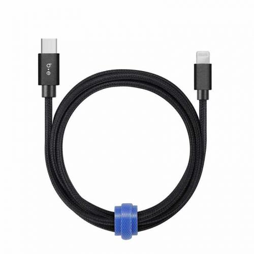 B.E. - Cable USB-C a Lightning 4 pieds