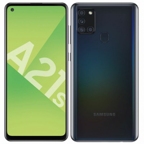 Cell Samsung Galaxy A21s Noir 64 Go (O.B.)