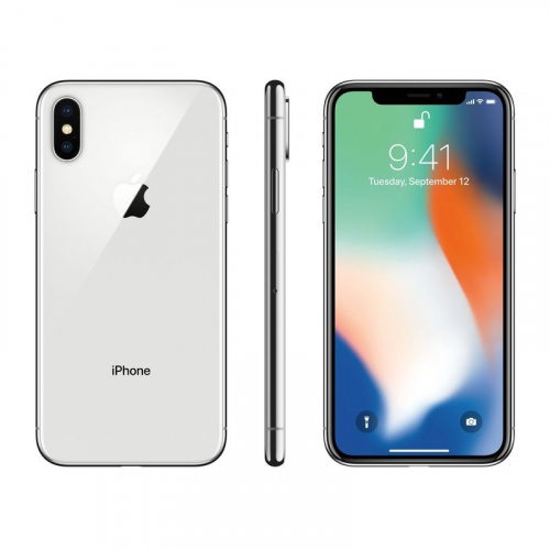 Cell iPhone X Argent 256 Go