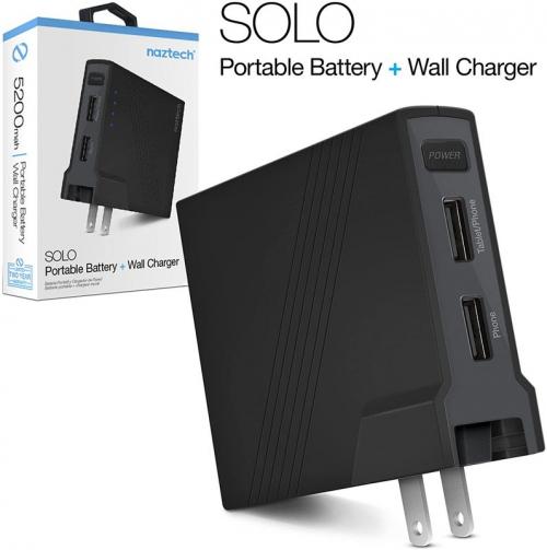 Naztech Solo - Batterie Portable 5200 mAh