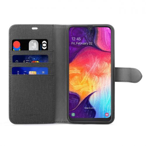 B.E. Folio Case Noir/Noir A70 Samsung