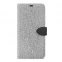 B.E. Folio Case Gris/Noir A20 Samsung