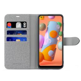 B.E. Folio Case Gris/Noir A11 Samsung Galaxy