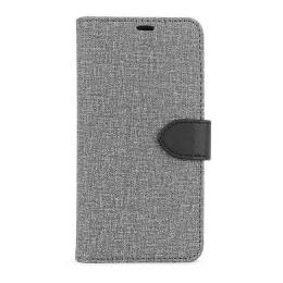 B.E. Folio Case iPhone 13 Pro Max Gris/Noir