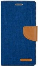 Canvas Diary Samsung Galaxy S9 Plus Bleu