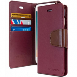 Sonata Diary - iPhone 12 / 12 Pro Rouge Vin