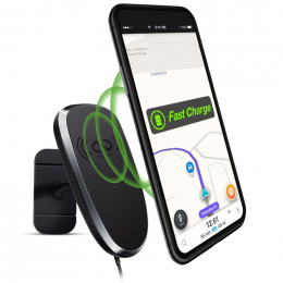 Naztech MagBuddy Chargeur Qi *Anywhere