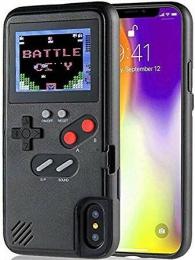 Etui GameBoy - iPhone XR Noir