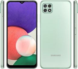 Cell Samsung Galaxy A22 5G 128 Go Menthe (O.B.)
