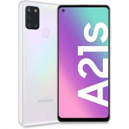Cell Samsung Galaxy A21s Blanc 64 Go (O.B.)