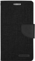 Canvas Diary Samsung Galaxy S9 Plus Noir
