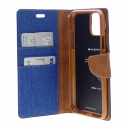 Canvas Diary - iPhone 11 Pro Max Bleu