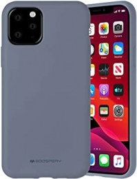 Silicone Case - iPhone 11 Gris Lavande