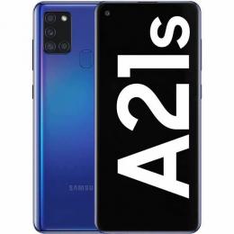 Cell Samsung Galaxy A21s Bleu 64 Go (O.B.)