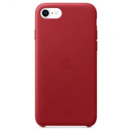 Etui en cuir iPhone 7 / 8 Rouge