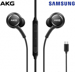 Ecouteurs USB-C noirs