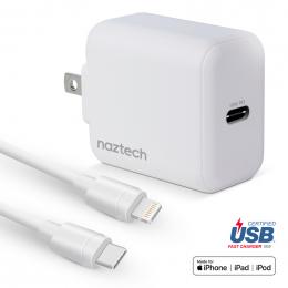Naztech - Kit charge USB-C iPhone / iPad 4 pieds