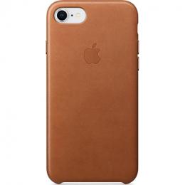 Etui en cuir iPhone 7 / 8 Brun