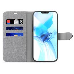 B.E. Folio Case iPhone 12 Pro Max Gris/Noir