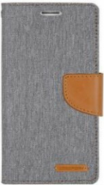Canvas Diary Samsung Galaxy S9 Plus Gris