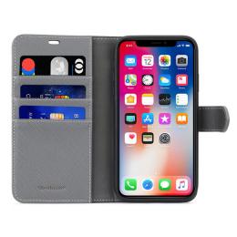 B.E. Folio Case Noir / Gris iPhone XR
