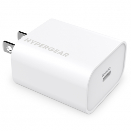 HyperGear Bloc Chargeur Mural 20W USB-C Blanc Vrac