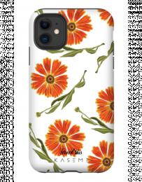 Kase Me iPhone X / XS - Orange Flowers